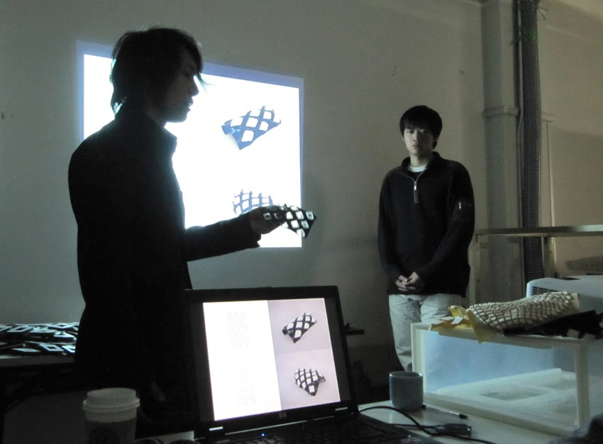 final reviews university of tokyo advanced design studies february 2010